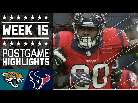 Jaguars vs. Texans | NFL Week 15 Game Highlights