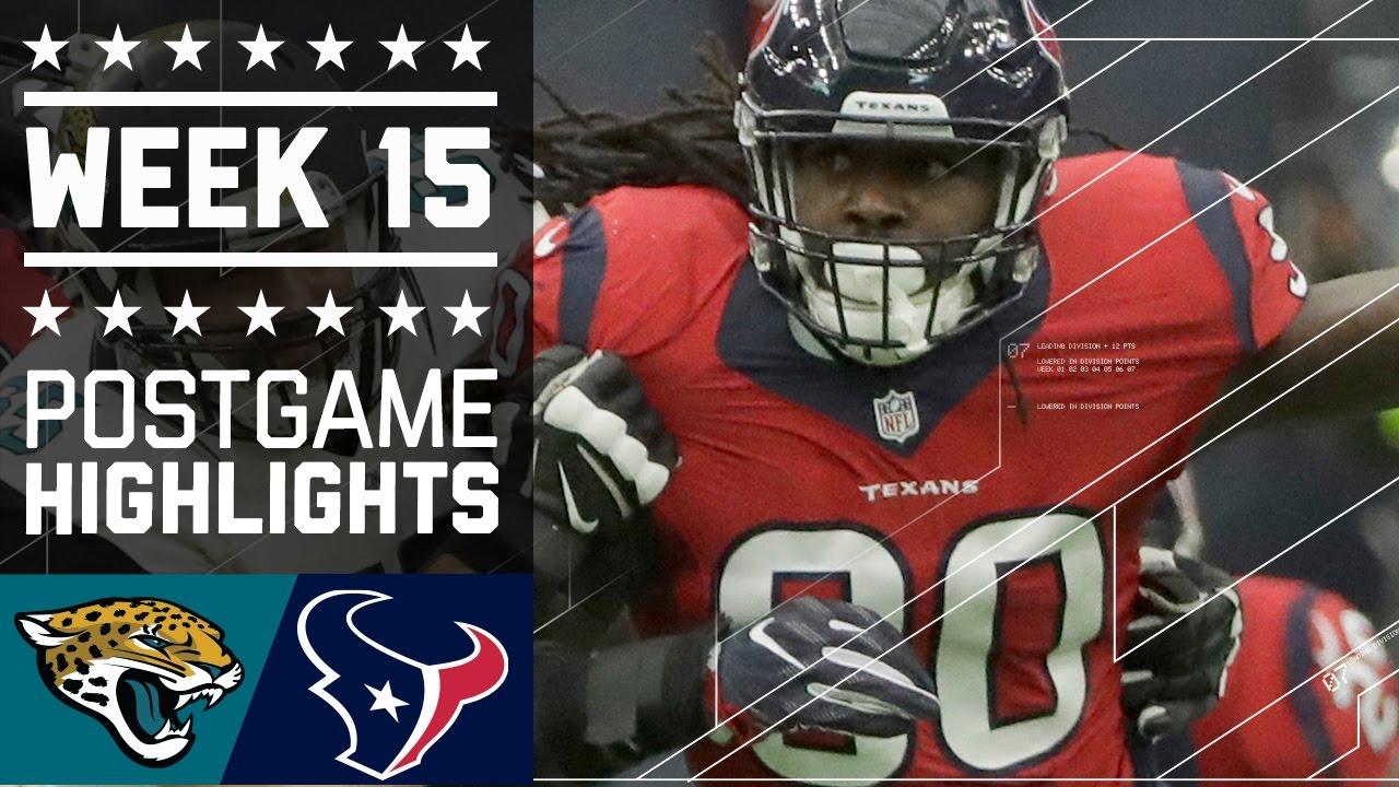 Jaguars Vs. Texans | NFL Week 15 Game Highlights   YouTube