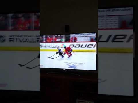 Sick NHL Hockey Check!!!!!!!