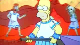 Homer On The River Styx