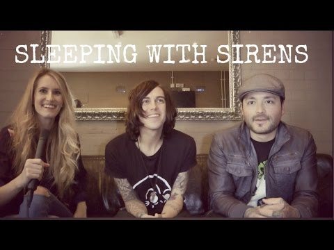 Sophie Eggleton Interviews Sleeping With Sirens