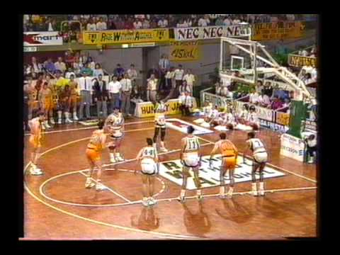 1990 NBL North Melbourne Giants vs Perth Wildcats Semi Final Game 3 Half of last qtr and OT)