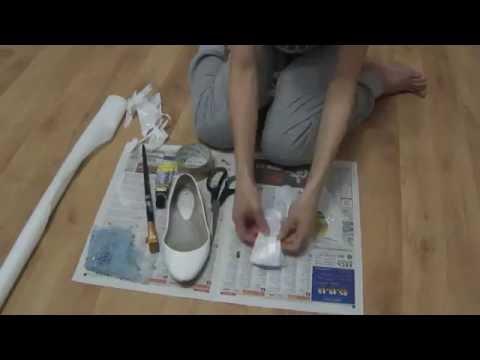 Реставрация обуви, обклеивание