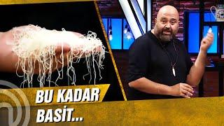 Kadayıf Dolma MasterClass'ı Başlıyor! | MasterChef Türkiye 22. Bölüm