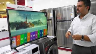 LG 43UJ630V UHD 4K SMART TV TANITIM VE İNCELEME #TeknoVlog