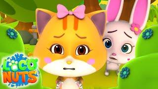 страшный лес   детские видео   веселые   Loco Nuts Russia   мультфильмы для детей
