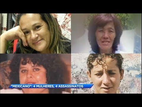 """Serial killer conhecido como """"Mexicano"""" é preso por matar quatro mulheres"""