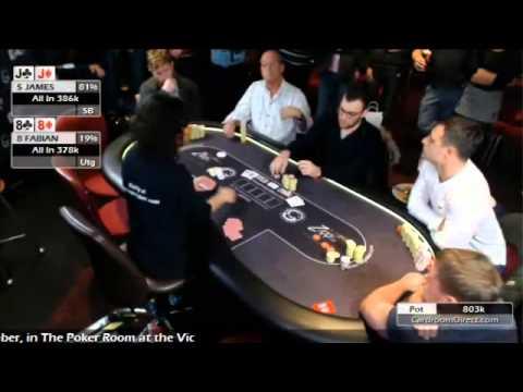 Phil Walker makes 3rd in Blackpool Poker Final