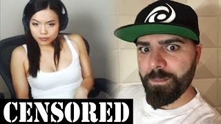 Leafy SUING KEEMSTAR? Gamer Girl FAPS on Stream? WTF... YouTuber Gets KICKED OUT!
