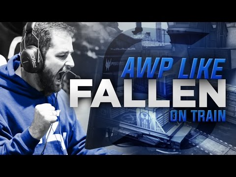 How to AWP like FALLEN on de_train