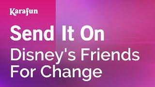 Karaoke Send It On - Disney