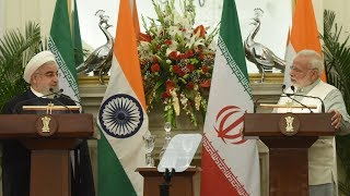 PM Narendra Modi's Speech at the Joint Press Statement with President of Iran Hassan Rouhani