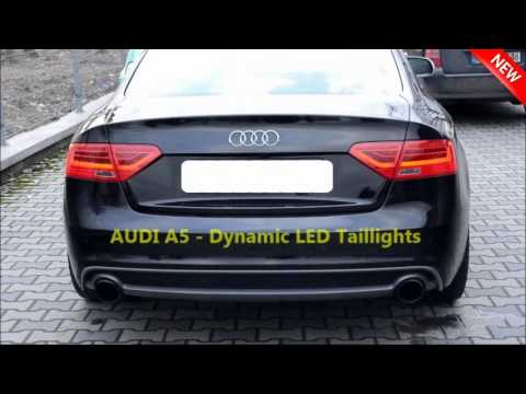 Audi A5 Dynamic LED Tail Lights -...