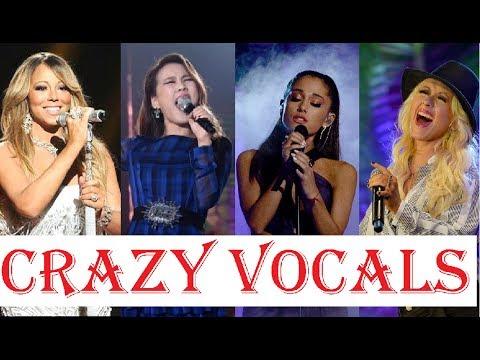 CRAZY VOCALS - FEMALE SINGERS