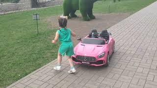 А покатаюсь ка я на рожевому кабріолетіогляд іграшок