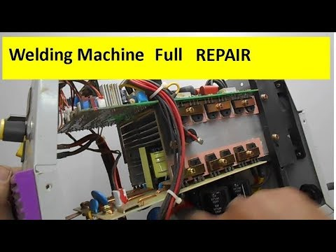 Full Welding Machine Repairing Tutorial & Voltage Distribution Across Different Components