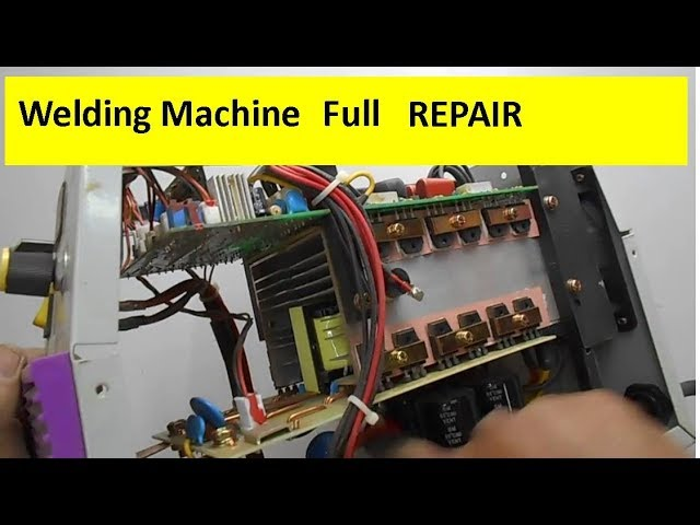 Full Welding Machine Repairing Tutorial Voltage Distribution Across Different Components Youtube