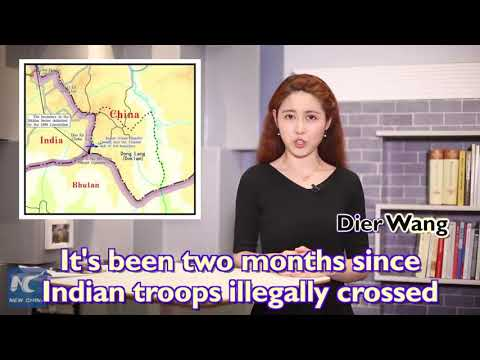 China Xinhua News mocking India. Racist Video