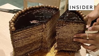 Could You Eat a 3-Pound Slice of Cake in 10 Minutes?