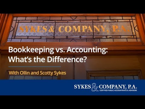 Bookkeeping vs. Accounting: What's the Difference?