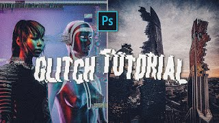 How to create a simple GLITCH EFFECT in PHOTOSHOP