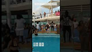 Pool party Dream weekend Cruise
