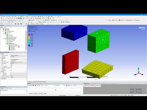 How To Plot Element Type Number And Element Name Number In ANSYS Workbench Mechanical
