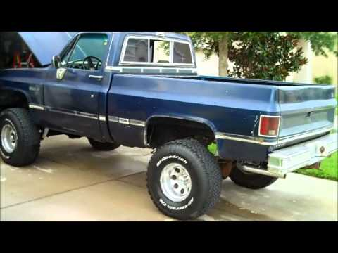 1984 Chevy K10 4x4 Walkaround New Project Youtube