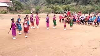 ສິລະປະ ໂຮງຮຽນປະຖົມບ້ານນາໂພ ວຽງໄຊ ຫົວພັນ Laos.
