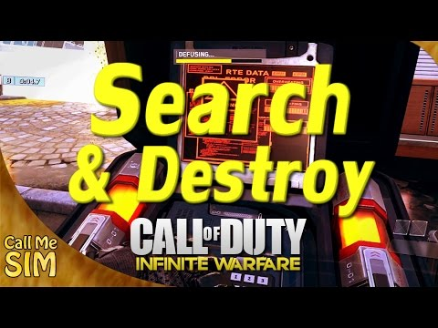 Infinite Warfare Search and Destroy - YouTube