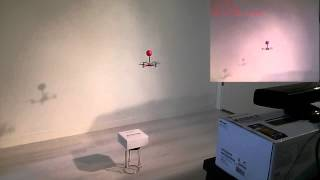 Crazyflie autopilot using Kinect and a PC