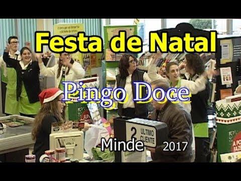 FESTA DE NATAL -  PINGO DOCE - MINDE -  2017