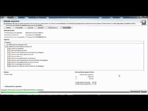 Instalacion IBM RATIONAL SOFTWARE ARCHITECT V9.0 - Parte 1