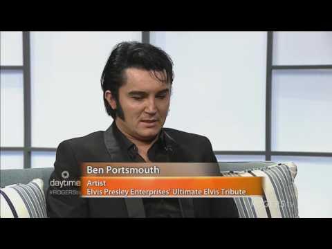 Worldrenowned Elvis Presley tribute artist Ben Portsmouth