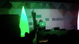 frank hurman @ soundvision party(luxaclub),,pablo akaros-eddy romero-frank hurman-carlos bru