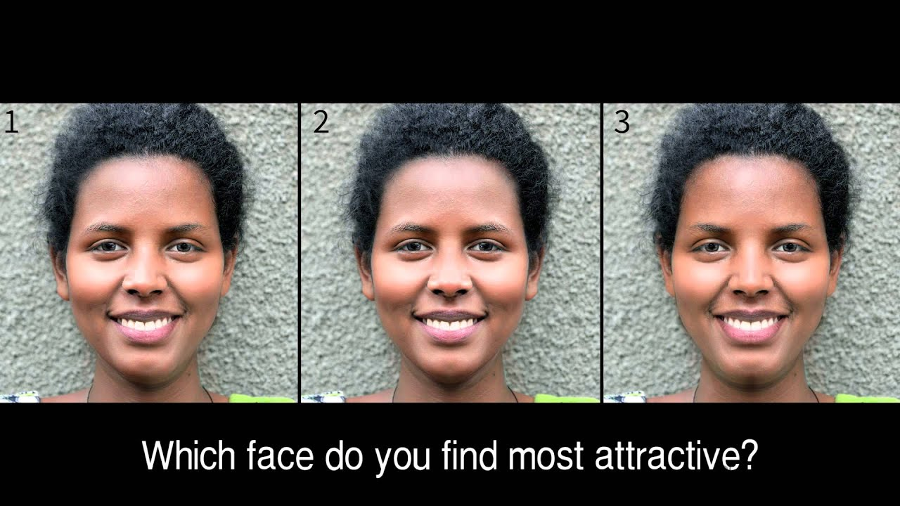Is a PERFECTLY symmetrical face more ATTRACTIVE?