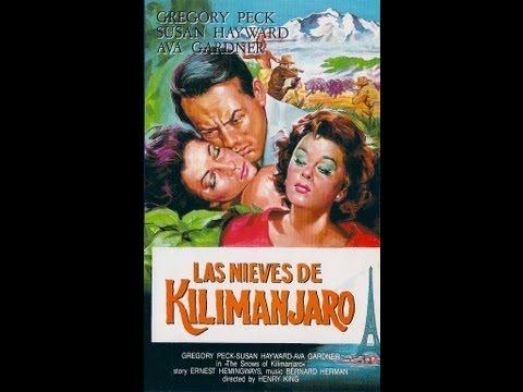 LAS NIEVES DEL KILIMANJARO P1 (SNOWS OF KILIMANJARO, 1952, Full movie, Spanish, Cinetel)