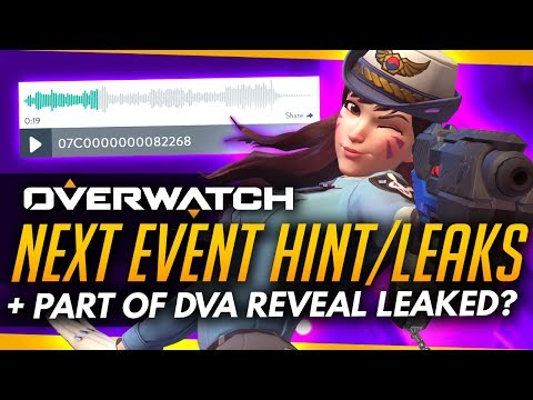 Overwatch   NEXT EVENT HINTS/LEAKS + Part Of DVa Reveal Leaked?