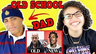 MY DAD REACTS TO Old School Rap Vs. New School Rap (Part 3) REACTION
