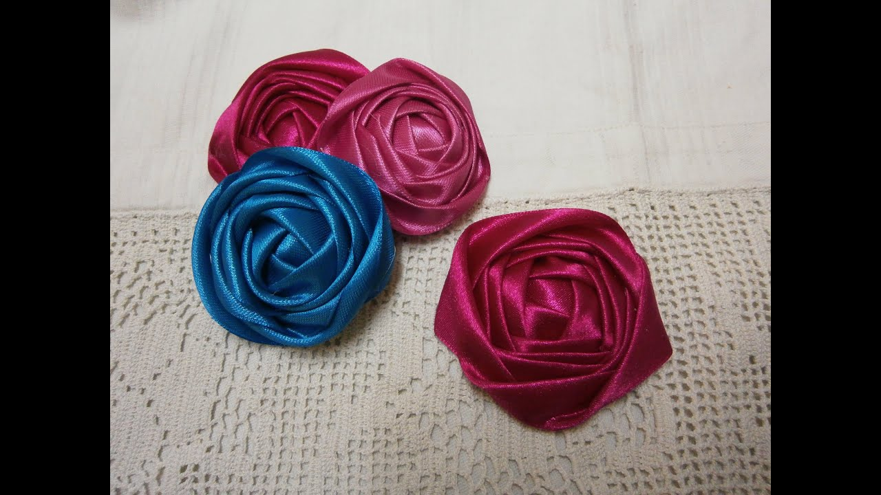 diy no sew ribbon flowers - photo #24