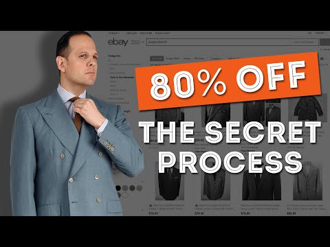 How to Get 80% Off Menswear Every Time: My Secret Step-By-Step Process