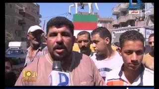 العاشرة مساء| تجميل تمثال الزعيم أحمد عرابي بعلبة ورنيش بـ 3 جنيه ...