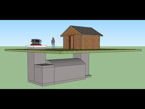 Как построить бункер своими руками на даче