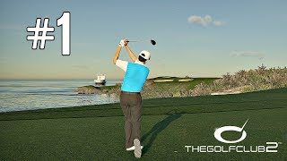 The Golf Club 2 Career Mode Part 1 - FIRST TOURNAMENT! (PS4 Pro Gameplay)