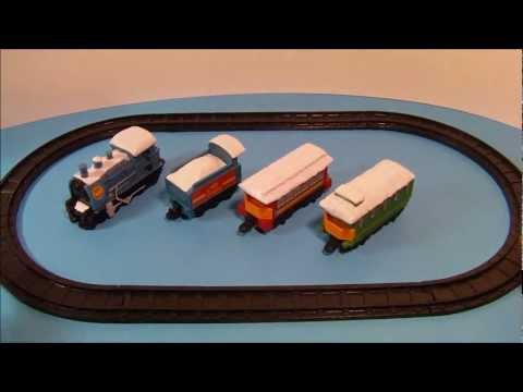 Model Railway Toy Train Track Plans -1997 BURGER KING ANASTASIA MINIATURE MOTORIZED TRAIN PLAY SET TOY REVIEW