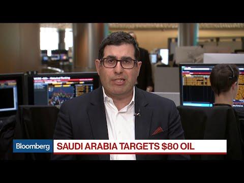 Saudi Arabia Said to Signal Ambition for $80 Oil Price