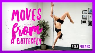 Pole Moves From A Butterfly