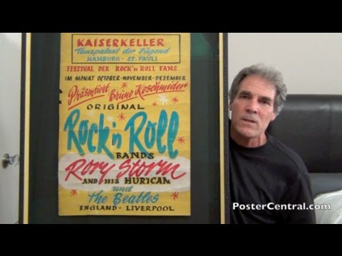 Beatles 1960 Concert Sign with Rory Storm & Hurricanes, Pt. 2