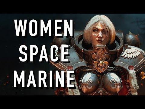 Female Spacemarines Coming to Warhammer 40K