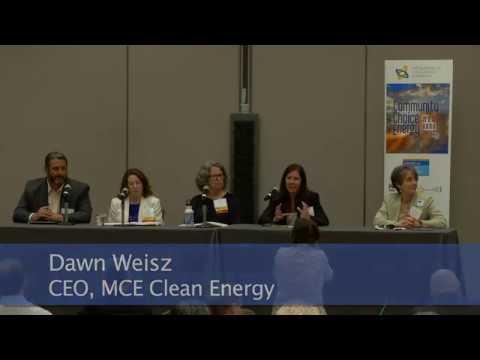 Plenary Panel: California Community Choice Leaders - Lessons Learned